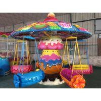 中山汉唐厂家直销产品旋转糖果飞椅游乐设备 玻璃钢