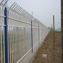 北京工业园围墙护栏 北京铁艺栏杆安装 仿古铁艺栏杆定做