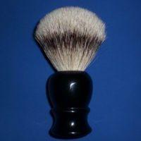 胡刷#AAF122厂家批发 男士剃须刷 黑四路獾毛胡刷高级仿木纹树脂