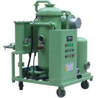 高效真空滤油机 不锈钢法兰滤油机