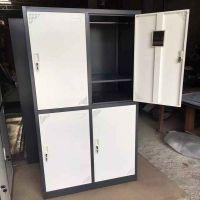 宁波艾鼎厂家直销加厚钢板GYG-006钢制四门更衣柜 鞋柜可定制