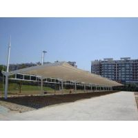 上海膜结构汽车棚对环境治理带来的影响