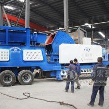 邵阳采石场用到的移动式破碎机是由哪个厂家提供的