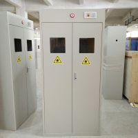 企业气瓶柜 高新企业实验室智能型气瓶柜 双瓶单层气体安全柜
