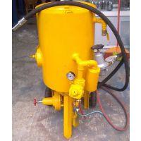 供应深圳威腾大型除锈移动式喷砂机 油罐翻新开放式喷砂机