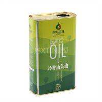 厂家定制 山茶油铁罐包装 食用油1L油马口铁盒 液体油包装盒