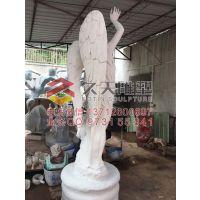 广东真石漆天使雕塑,玻璃钢天使雕塑,欧式人物雕塑