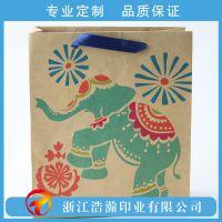 浩瀚印业 手提纸袋 创意宣传广告手提袋定做印刷 牛皮纸包装袋