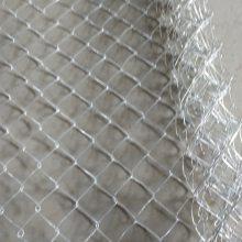 南昌2*20米边坡防护勾花网厂家——菱形编织铁丝网亚奇丝网厂供货