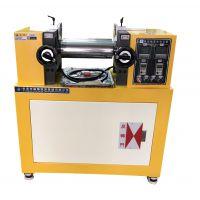 颜料检测用4寸开炼机 打板用小型实验室炼胶机 开放式两辊混炼机锡华厂家直销