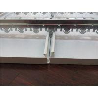 长期供应加油站室外罩棚天花防风铝条扣板