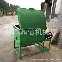 100型卧式混合机 多功能农用设备 饲料混合搅料机