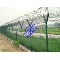 机场护栏网刺丝铁丝网围栏Y型刀片刺绳护栏网厂家直销
