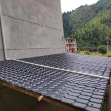 福建南平南阳树脂瓦,耐腐蚀塑料屋面瓦,高质量合成树脂瓦配件