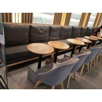 铜川市快餐桌椅,简约现代咖啡厅桌椅组合定制厂家