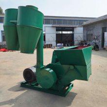 养殖厂牛羊秸秆饲料粉碎机 大型沙克龙自动进料秸秆粉碎机