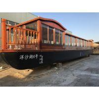 供应湖南娄底19.9米带船检画舫船大型观光船价格实惠