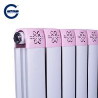 厂家直销春光牌GLZY75*75钢铝复合暖气片水暖散热器