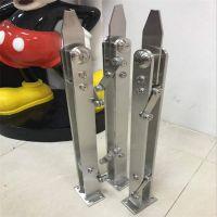金聚进 加工定做 304不锈钢楼梯栏杆及配件,304不锈钢立柱,建筑护栏