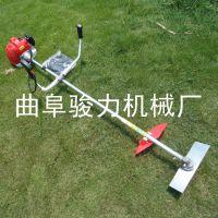 生产优质 二冲程肩背锄草机 背负式松土除草机 小型割草机 骏力机械