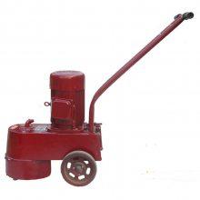 天德立手推式水磨石机 水泥地面金刚石磨头打磨机 350型水磨石抛光机