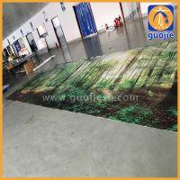 喷绘厂家专业生产内打灯刀刮布UV 户外防水大型灯布可使用1到2年宽度5m以内上海生产工厂价格低质量好