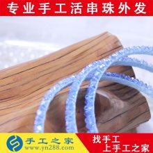 深圳哪里有来料加工摆挂饰类手工活外发
