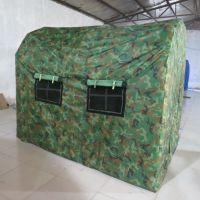 北京五环精诚旅游充气帐篷厂家 户外野营PVC气柱充气帐篷
