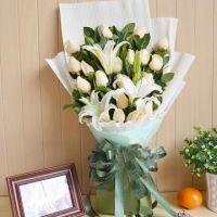 友谊路鲜花批发友谊路花卉速递15296564995婚礼花车装鲜切花 配送婚花
