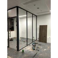 办公隔断 办公室隔断墙  中空百叶隔断 铝合金玻璃隔断