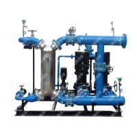 高温蒸汽换热器-换热机组,冷凝水与回水温差1-3摄氏度