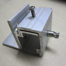 大量生产 铝合金挂件子母件 抗震背栓 幕墙铝合金挂件型材