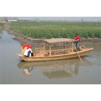 菜花节景区手划船哪里有 旅游观光单蓬小渔船 厂家直销小渔船