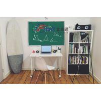 江门教学绿板磁性F茂州挂式磁性双面绿板X办公会议写字板