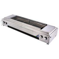 商用加厚不锈钢山西厨具营行金铁匠液化气燃气烧烤炉