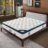 天然乳胶床垫 独立袋装弹簧席梦思正反两用加厚双人床垫静音可面拆