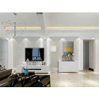 沈阳华庭装饰名流印象69平现代简约风格装修设计效果图