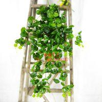 优质厂家常年供应仿真植物壁挂 仿真地瓜藤 人造植物吊兰 可装饰服装店室外烧烤店
