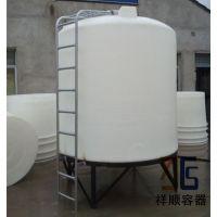 6吨锥底水桶 6吨塑料尖底水塔 6吨pe锥水桶