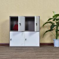 河南钢制铁皮更衣柜文件柜选购 先导钢制文件柜报价 定制文件柜厂家