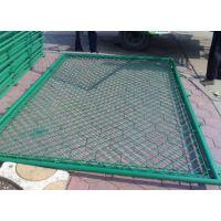镀锌勾花网客土喷播挂网球场围栏网绿化勾挂网边坡复绿铁丝网优质服务