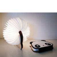 新奇创意USB充电小夜灯卡通熊猫儿童玩具男孩女孩送同学朋友情人礼品生日礼物氛围灯书灯摆件 熊猫 七彩