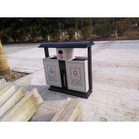 四川宜宾垃圾桶 户外分类垃圾箱 钢板果皮箱