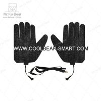 摩托防寒保暖发热手套 碳纤维发热片 电加热片 电暖片 加热片 kubear酷熊代加工