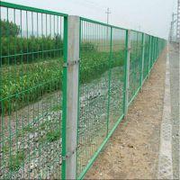 厂家直销双边丝护栏网高速公路铁路护栏网养殖业绿色铁丝网