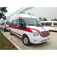 新世代V348长轴中顶柴油监护型救护车改装