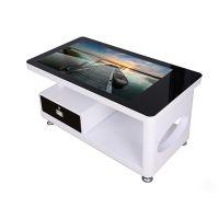 电容触摸茶几 触控电脑一体机 高清LG显示屏多点互动餐桌 桌面式智慧触摸屏