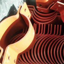 推荐A11双排螺栓压紧管卡生产厂家赤诚服务周到
