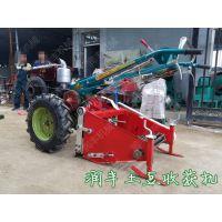 不破皮土豆挖掘机型号 新款拖拉机带动土豆挖掘机 润丰