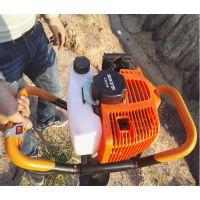 厂家直销48型手提式单人操作地钻挖坑机